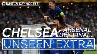 Chelsea Lift The Europa League Trophy! 🏆 Exclusive Footage   Unseen Extra