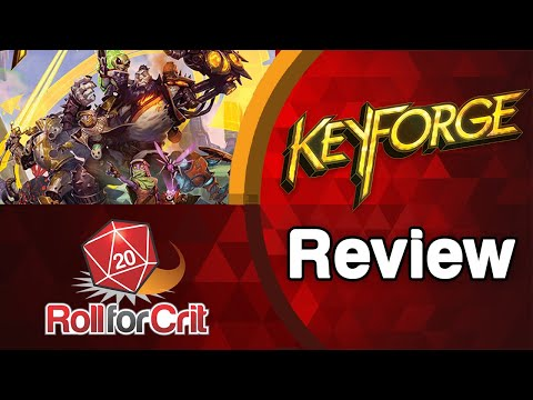 KeyForge Review | Roll For Crit