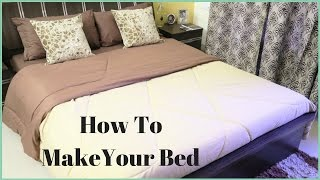 How To Make A Bed- How To Put A Bed Sheet On A Bed