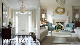 Interior Design – A Traditional Living Room With 1930s Glamour