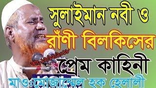 Solaiman Nabi Rani Bilkis love । সুলাইমান নবী রাণী বিলকিসের প্রেম কাহিনী । New Bangla Waz 2018