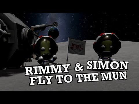 A Real Doctor & an Aussie Fly to the Mun - Multiplayer Kerbal Space Program