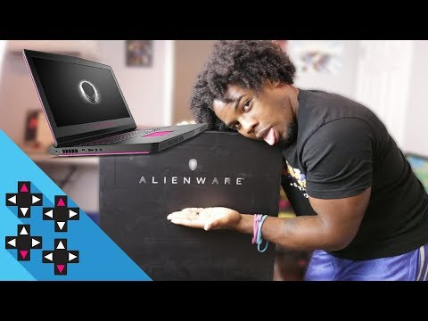 CHECK OUT MY NEW ALIENWARE 17!!! — UpUpDownDown Unboxing