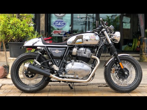 Download Royal Enfield Interceptor 650 Cafe Racer By Zeus Custom