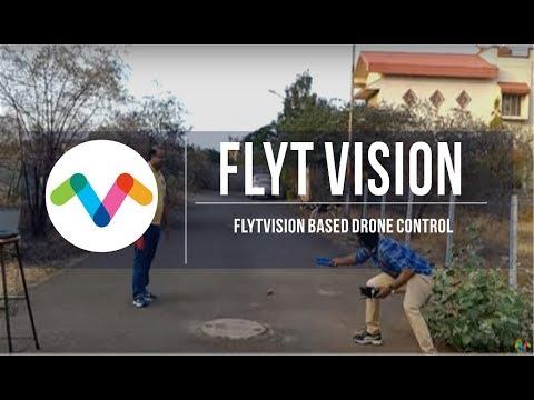 Vision Based Drone Control- FlytOS