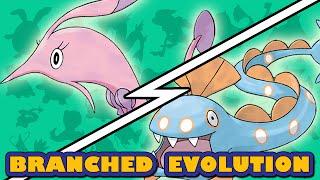 Clamperl  - (Pokémon) - Huntail vs Gorebyss | Pokémon Branched Evolution