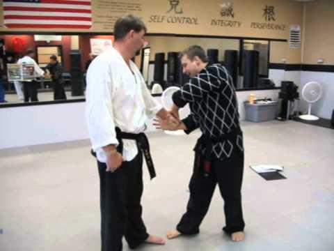 Hapkido White Belt #7 - Same Side Body Wrist Grab Armbar