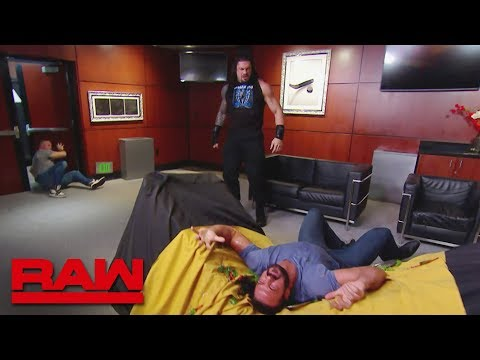 Download Roman Reigns Storms Into Shane McMahon's VIP Room: Raw, June 17, 2019 HD Mp4 3GP Video and MP3