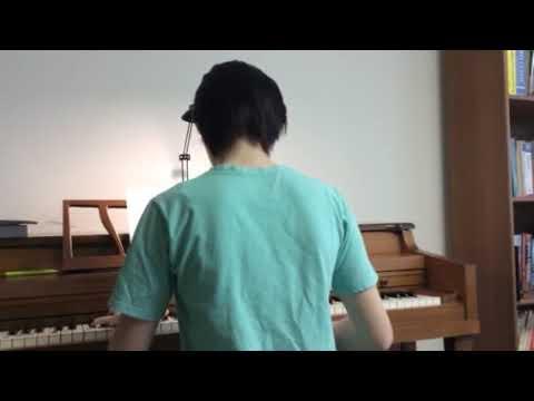 Eva, age 13 playing anime song Michishirube