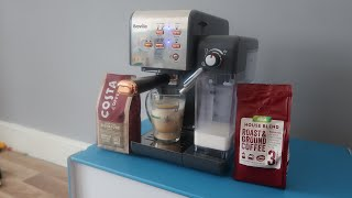 BREVILLE ONE TOUCH COFFEE HOUSE MACHINE!