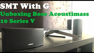 Bose Acoustimass 10 Series V Unboxing