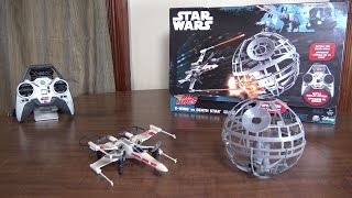 Air Hogs - Star Wars X-Wing vs Death Star - Review and Flight