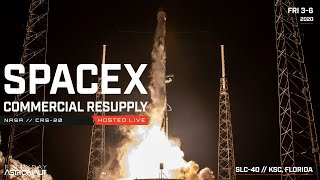 Watch SpaceX launch their LAST Dragon 1 Capsule for CRS-20