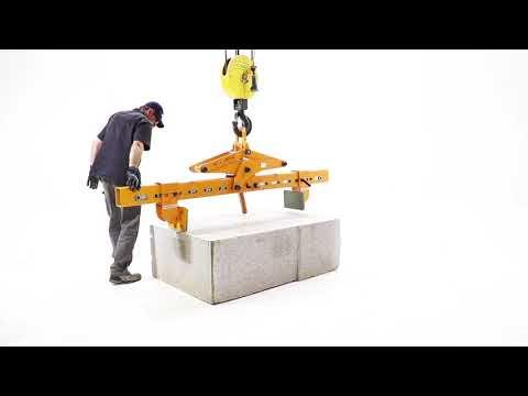 수평 방향 스톤 리프팅 클램프 - 2010-4T