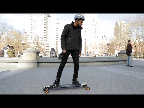 Evolve's electric skateboard