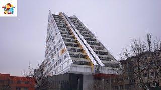 Ambienti TV show - Apartment renovation / triangular tower / Ljubljana