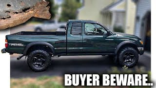 When Buying A Used Toyota Tacoma, ALWAYS Look For This.. | More Barn Demolition