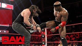 Elias vs. Bobby Lashley - Winner Joins the Raw Men