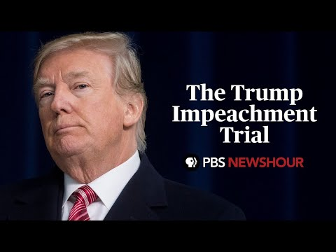 WATCH LIVE: Trump's impeachment trial in the Senate | January 21