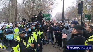 NA ŻYWO  Anti Lockdown Protest – London