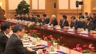 Tổng Bí thư Nguyễn Phú Trọng hội đàm với Tổng Bí thư Tập Cận Bình