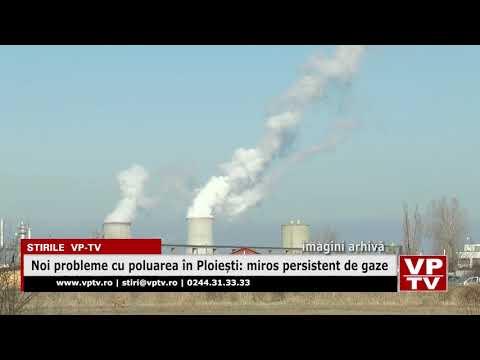 Noi probleme cu poluarea în Ploiești: miros persistent de gaze