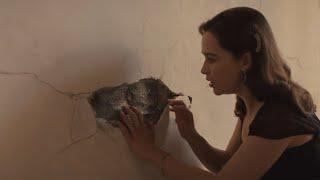 【穷电影】女子到古堡工作,发现墙壁内有怪声,靠近听却被吓到了