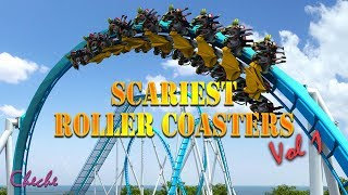 Epic Roller Coaster Rides POV Try Not To Scream