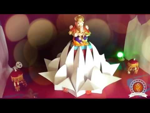 Chaitanya Kulkarni Home Ganpati Decoration Video