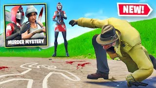 MURDER MYSTERY *NEW* Custom Gamemode In Fortnite Battle Royale!