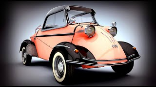 Fun, Funky, & Rare Micro Cars! World's Smallest Vintage Cars!