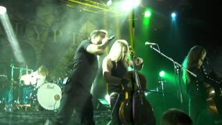 APOCALYPTICA - House Of Chains /Live in MINSK /Prime Hall 02.12.2015/