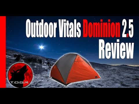 The Price is Right – Outdoor Vitals Dominion 2.5 Person Tent