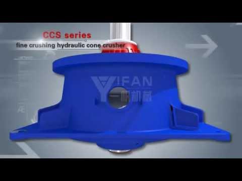 CCS Trituradora hidráulica de cono / triturador giratorio