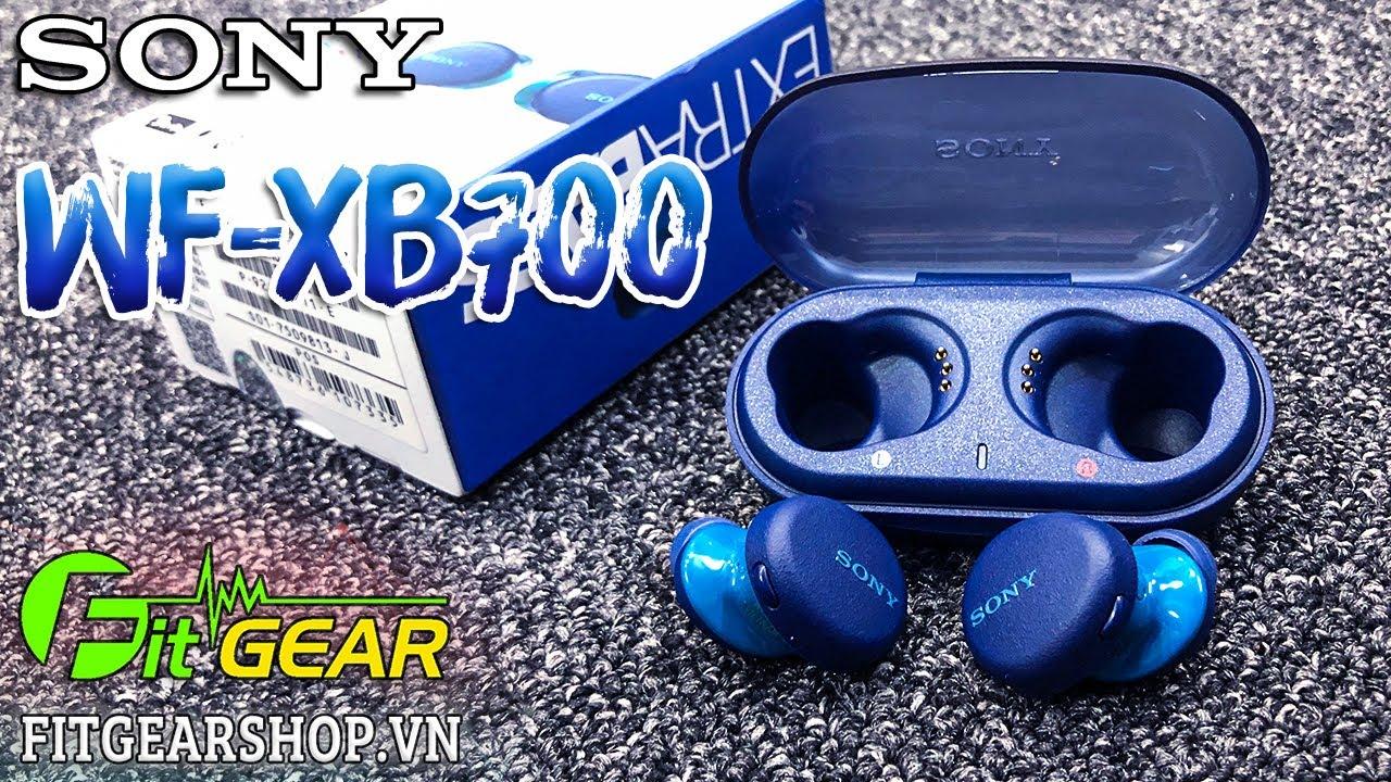 SONY WF-XB700   Chiếc tai nghe True Wireless EXTRA BASS đầu tiên của SONY