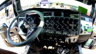 The Lead Sled Show Truck In Action - 2006 Kenworth W9b Big Rig