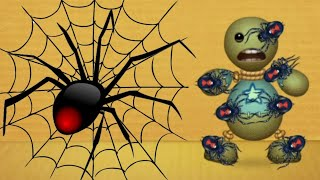 Black Widow SPIDER vs The Buddy | Kick The Buddy
