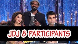 Jhalak Dikhla Jaa season 8's contestants