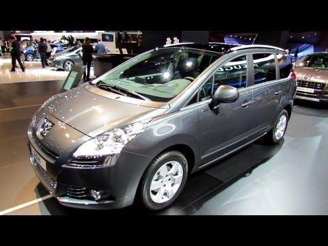 2013 Peugeot 5008 Family e-CDi - Exterior and Interior Walkaround - 2012 Paris Auto Show