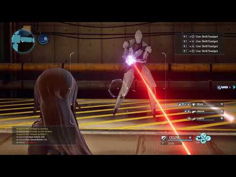 Sword Art Online: Fatal Bullet Gameplay | PS4, XB1, PC thumbnail