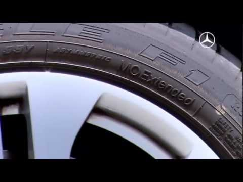 Mercedes-Benz E Guard: Protection by run-flat tires