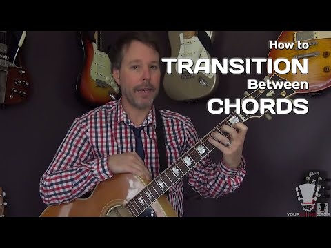 How to Transition Between Chords Smoothly - Guitar Lesson