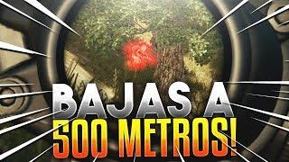 ¡BAJAS CON LA MINI14 A 500 METROS! PLAYERUNKNOWN