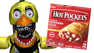 FNAF Characters And Their Favorite SNACKS