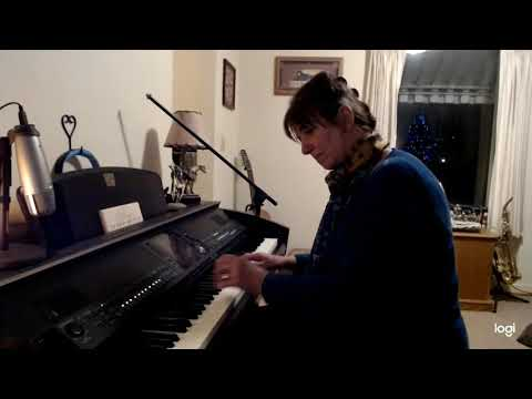 Here is an example of me playing my keyboard. I realize it's a Christmas song, but it happens to be one of my favorites. Enjoy!