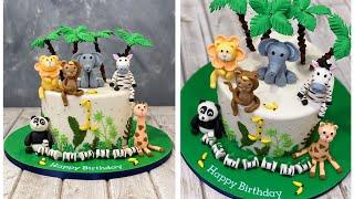 Wild Animal Cake   Jungle Cake