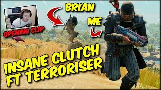 I HIT A JUMP, NO SCOPE, HEADSHOT OUT OF A CAR! PLUS HAD AN EPIC CLUTCH WITH TERRORISER! BLACKOUT WIN