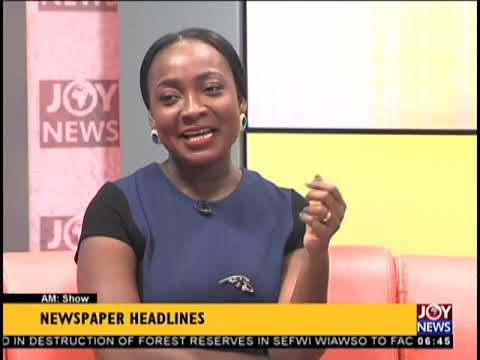 'You'll Be Arrested', GRA Warns - AM Show Headlines on JoyNews (25-9-18)