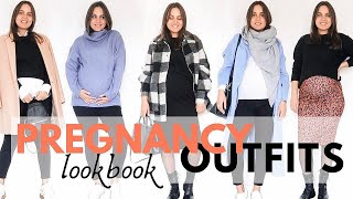 What to wear in third trimester? | FALL OUTFITS | Maternity Fashion
