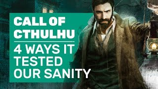 Whaling, Sherlock Roleplay, and Other Ways Call of Cthulhu Tested Our Sanity Meters